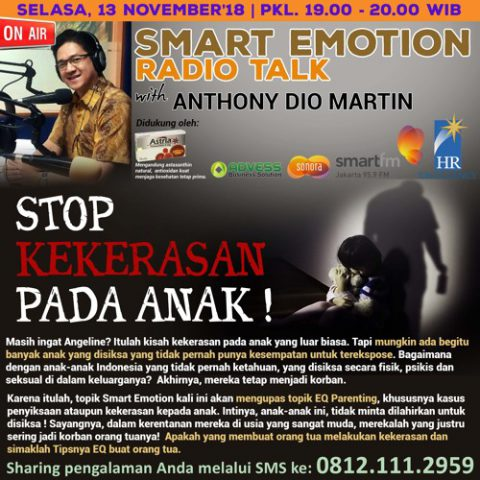 "Smart Emotion: ""STOP KEKERASAN PADA ANAK!"""