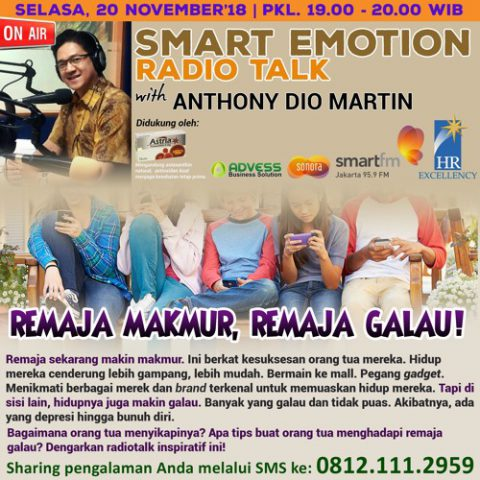 "Smart Emotion: ""REMAJA MAKMUR, REMAJA GALAU!"""