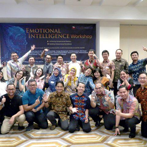 Workshop EQ @ Digitilized World CIMB NIAGA, Jakarta 1-2 November 2018, BSD City Tangerang