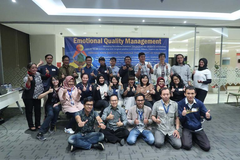 """Emotional Quality Management Workshop"", Digima Asia, 15-16 Januari 2019, Graha Anabatic-Serpong"