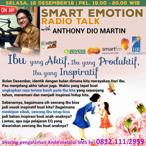 """Smart Emotion: """"Ibu Yang Aktif, Ibu Yang Produktif, Ibu Yang Inspiratif"""""""