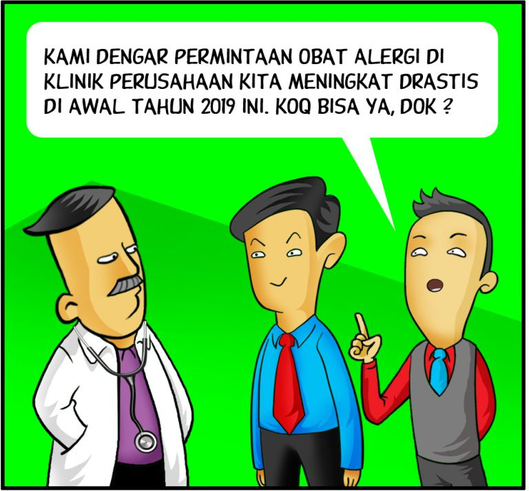Marx in Corp Comic Series: Obat Alergi