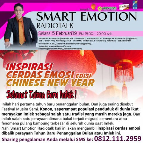 Smart Emotion: Inspirasi Cerdas Emosi edisi Chinese New Year 2019