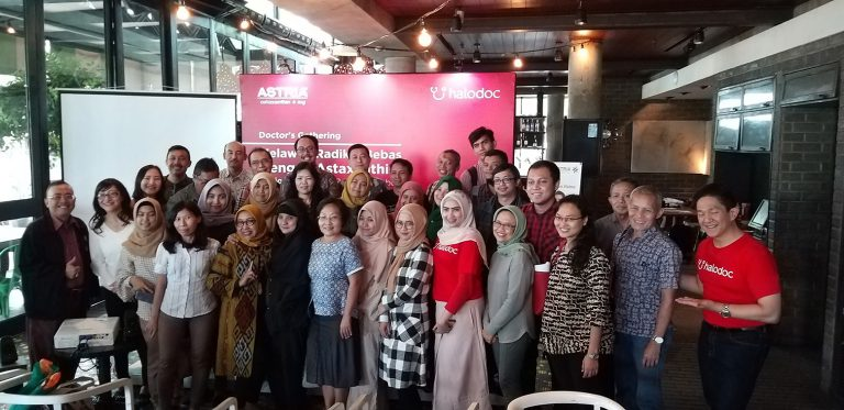 "Seminar ""Halodoc: Do You Really Care After They Say hello?"", 26 Januari 2019, Jakarta."