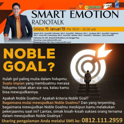 Smart Emotion: NOBLE GOAL ?