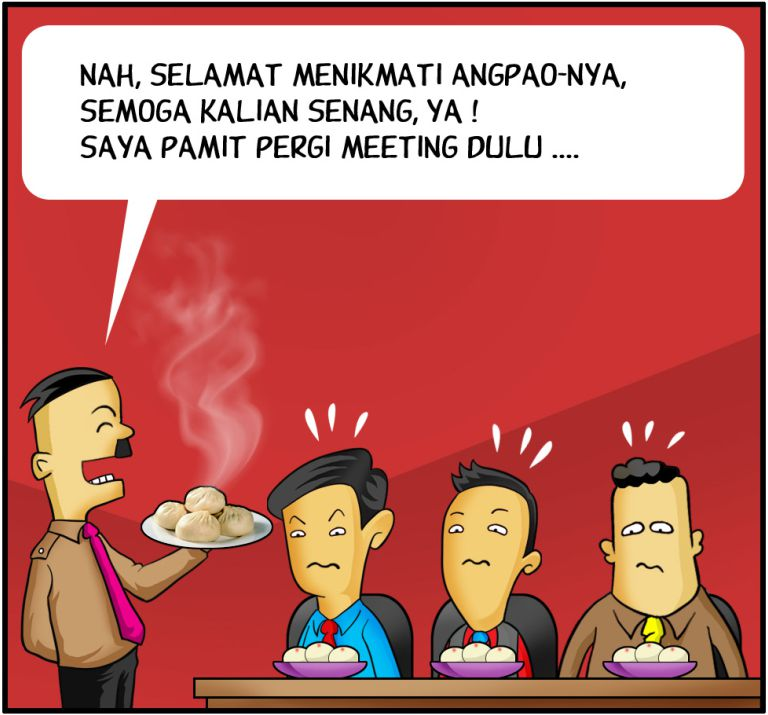 Marx in Corp Comic Series: Angpao dari Boss
