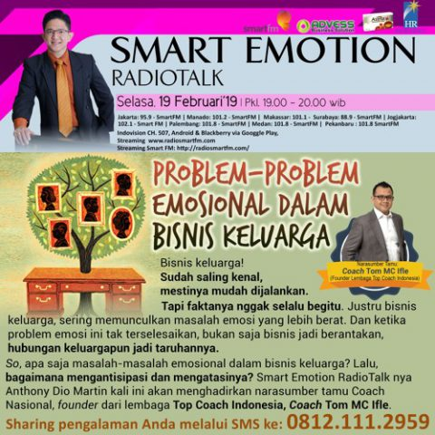 "Smart Emotion: ""Problem-problem Emosional dalam Bisnis Keluarga"""