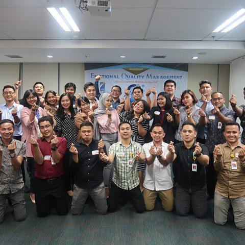 Emotional Quality Management Workshop, BCA Finance, 8-9 April 2019, Jakarta