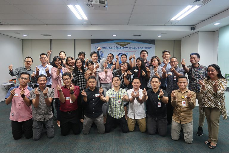 Emotional Quality Management Workshop, BCA Finance, 8-9 April 2019, Jakarta