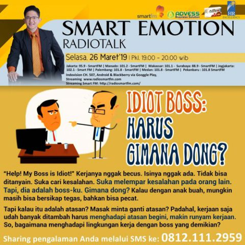 Smart Emotion: Idiot Boss, Harus Gimana Dong?