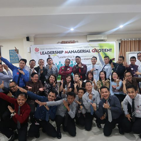 Leadership Managerial Quotient (LMQ) Workshop Matahari Department Store (MDS), Matahari Human Capital Center, Jakarta 20-21 Maret 2019