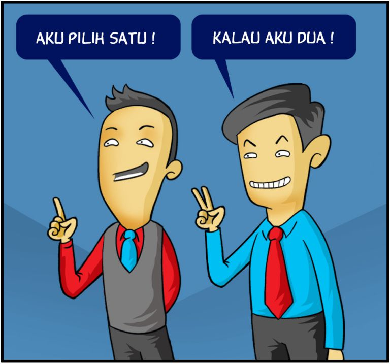 Marx in Corp Comic Series: Satu & Dua