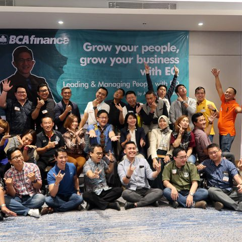 """Training """"Grow Your People, Grow Your Business"""", BCA Finance Leaders, Hotel Four Points Surabaya, 8-9 Maret 2019."""
