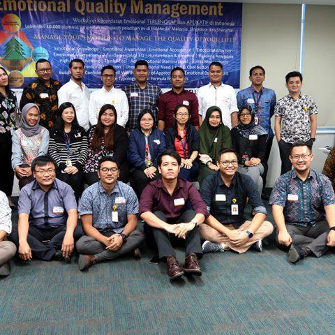 """Workshop 2 Hari """"EQ for Leader"""" BCA Finance, Jakarta 11-12 Maret 2019."""