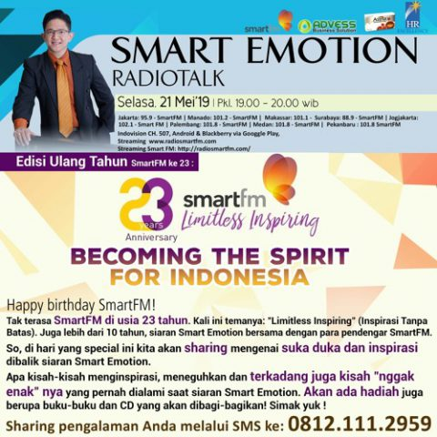 Smart Emotion: BECOMING THE SPIRIT FOR INDONESIA