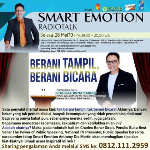 Smart Emotion: BERANI TAMPIL, BERANI BICARA