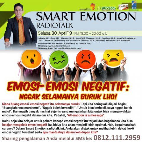 """Smart Emotion: """"Emosi-emosi Negatif"""" Nggak Selamanya Buruk lho!"""