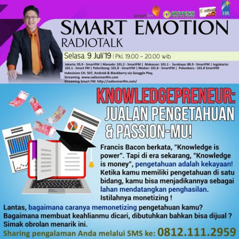 Smart Emotion: KNOWLEDGEPRENEUR: Jualan Pengetahuan & Passion-mu!