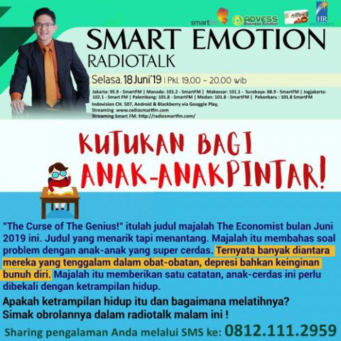Smart Emotion: KUTUKAN BAGI ANAK-ANAK PINTAR!
