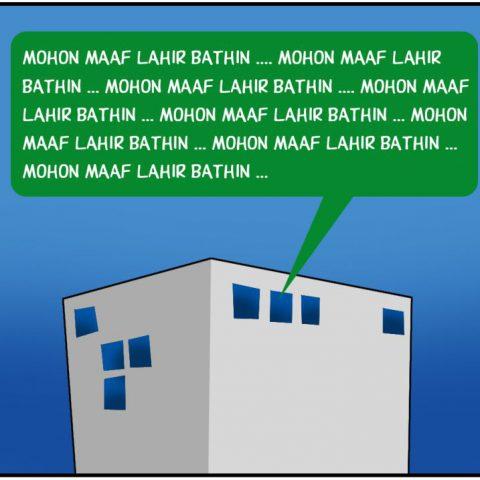 Marx in Corp Comic Series: Maaf Lahir Batin