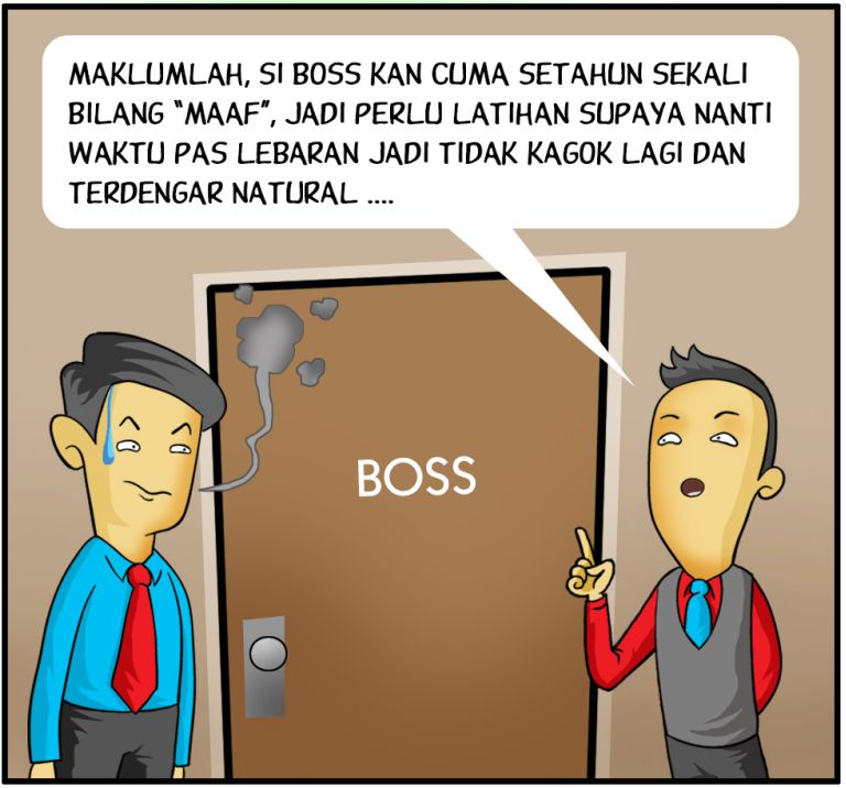 Marx in Corp Comic Series: Maaf Lahir Batin