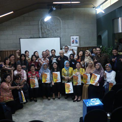 Smart Business Lunch for Smart FM Listener, 26 Juli 2019, SevenFriday Space - Jakarta