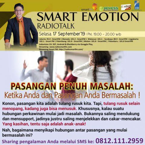 """Smart Emotion: """"PASANGAN PENUH MASALAH"""" Ketika Anda dan Pasangan Anda Bermasalah!"""