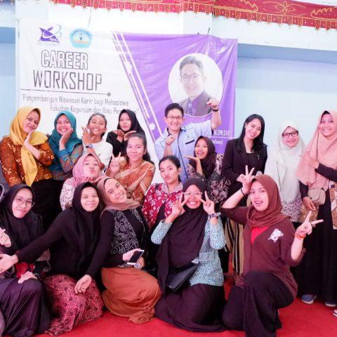 Career Workshop & Seminar Pengembangan Wawasan Karir Bagi Mahasiswa Fakultas Keguruan dan Ilmu Pendidikan, Universitas Lampung, 26 September 2019