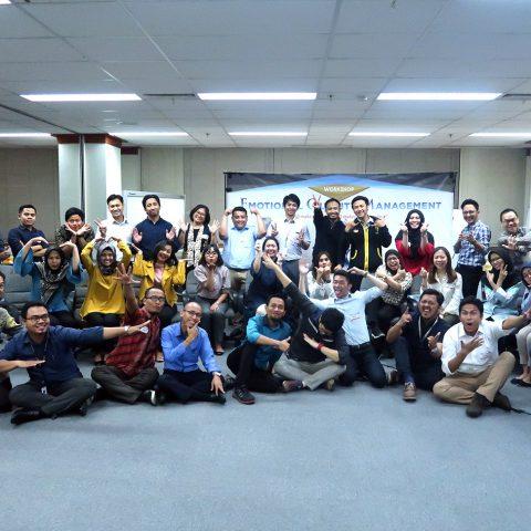 """EQ at Work "" Mitsubishi Group of Corporations, 28-29 Agustus 2019, Training Center Mitsubishi"