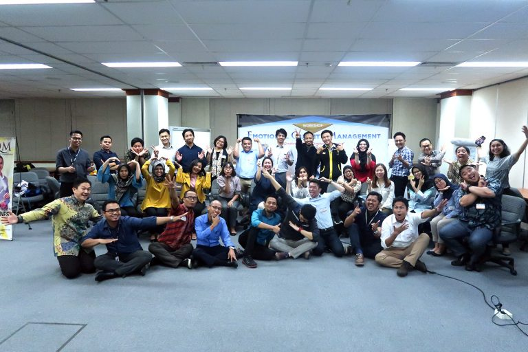 """EQ at Work "" Mitsubishi Group of Corporations, 28-29 Agustus 2019, Training Center Mitsubishi"