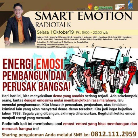 Smart Emotion: Energi Emosi Pembangun dan Perusak Bangsa!