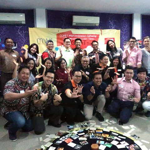 "Gathering & Knowledge Sharing COMET: ""Fun Way To Coach! 30 Agustus 2019, HR Excellency Office"