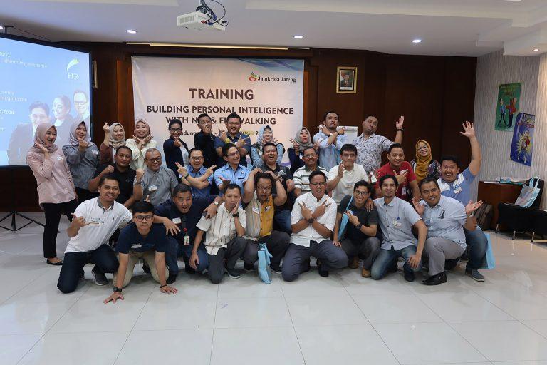 NLP & Firewalking Workshop, PT Jamkrida Jateng, 17-19 Oktober 2019, Griya Persada Bandungan-Jateng.