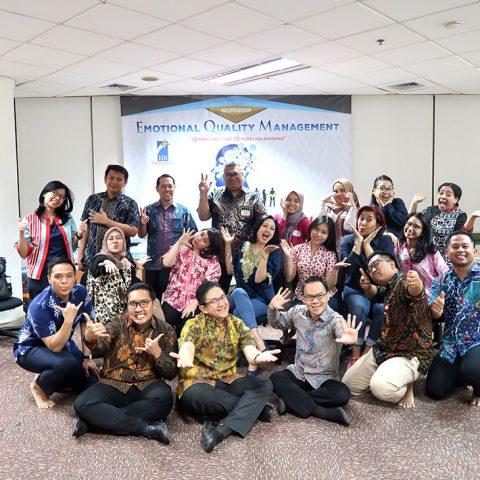 "Workshop 2 Hari ""Emotional Intelligence"" CIMB Niaga, 1-2 Oktober 2019, Dynaplast Building-Karawaci"