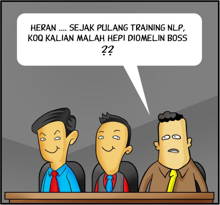 Marx in Corp Comic Series: MENIKMATI DIOMELIN BOSS