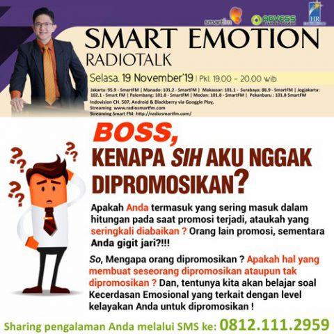 Smart Emotion: Boss, kenapa sih aku nggak dipromosikan?