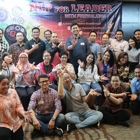 Building Personal Intelligence with NLP & Firewalking, Public Workshop HRE, 21-23 Oktober 2019, Hotel Santika Premiere-Jakarta.