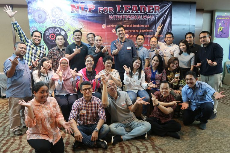 Building Personal Intelligence with NLP & Firewalking, Public Workshop HRE, 21-23 Oktober 2019, Hotel Santika Premiere-Jakarta.