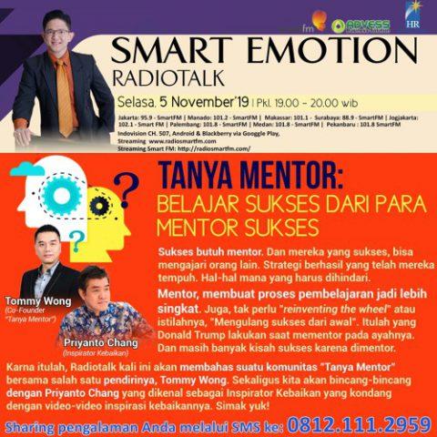 """Smart Emotion: """"Tanya Mentor"""" Belajar Sukses Dari Para Mentor Sukses!"""