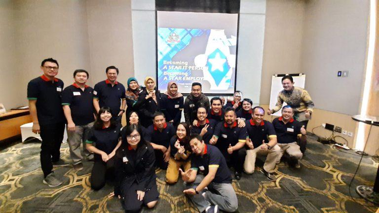 "Training 1 Hari ""Becoming a Star IT Person HM Sampoerna"", 11 Desember 2019, Hotel Tentrem Yogyakarta"