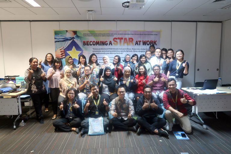 Training 1 Hari Becoming a Star at Work PT Astra Aviva Life, Jakarta 9 Desember 2019