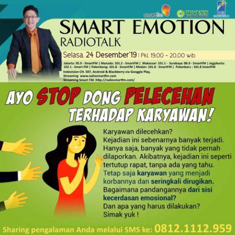 Smart Emotion: Ayo Stop Dong Pelecehan Terhadap karyawan