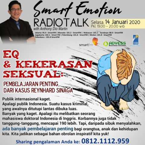 Smart Emotion: EQ & Kekerasan Seksual