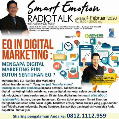 Smart Emotion: EQ In Digital Marketing Mengapa Digital Marketing pun Butuh Sentuhan