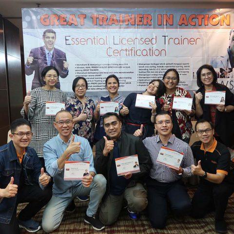 """GREAT TRAINER IN ACTION"" MWS International-Indonesia, 3-6 Februari 2020, Hotel Santika Premiere Slipi-Jakarta."