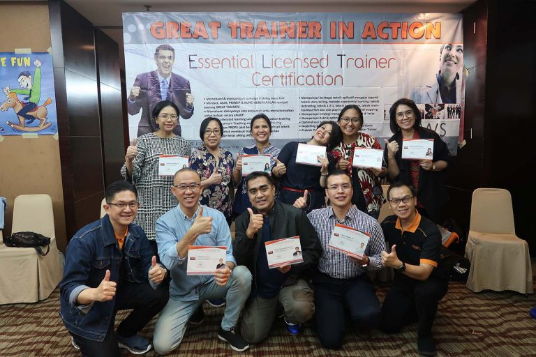 """GREAT TRAINER IN ACTION"" MWS International-Indonesia, 3-6 Februari 2020, Hotel Santika Premiere Slipi-Jakarta."