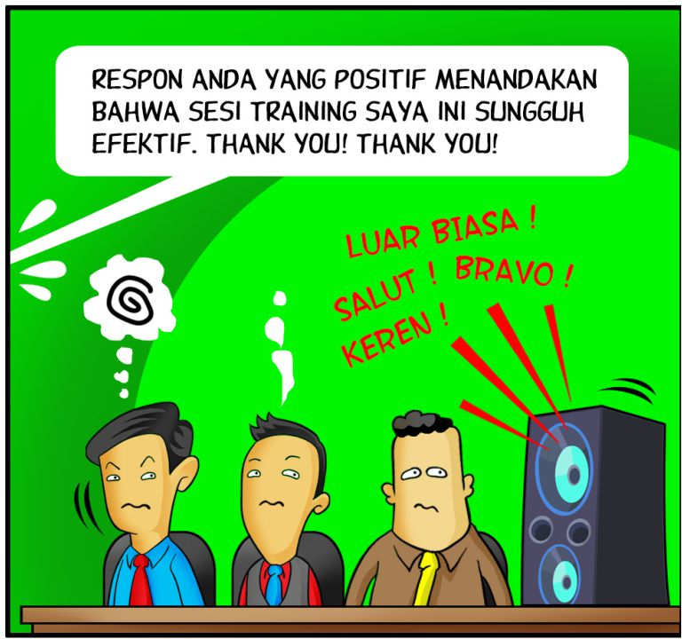 Marx in Corp Comic Series: Respon Audiens Positif
