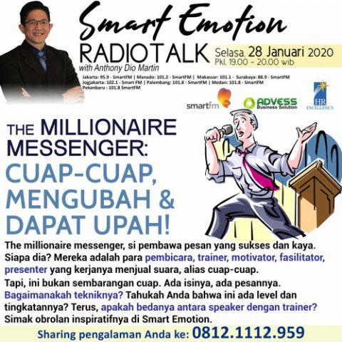 Smart Emotion: The Millionaire Nessenger  Cuap-cuap, Mengubah & Dapat Upah !