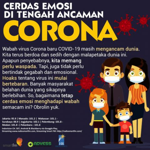 Smart Emotion: Cerdas Emosi Di Tengah Ancaman Corona