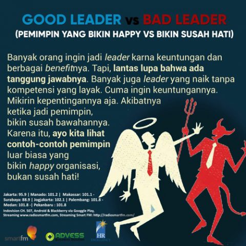 Smart Emotion: Good Leader VS Bad Leader